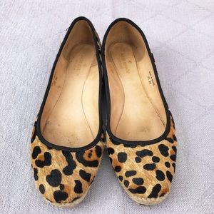Kate Spade leopard espadrille